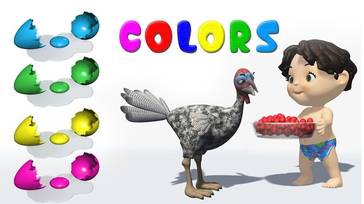 Learn Colors for Kids / color song / Learning Video Compilation
