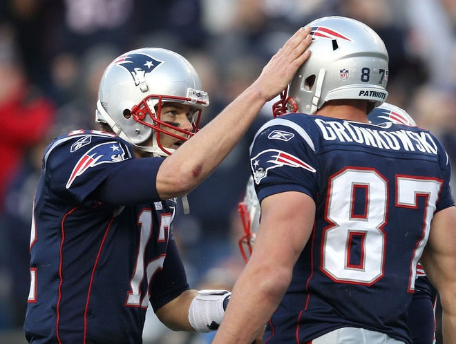Tom and Rob...I will let you in my butt after the game !Gronk National, Football Helmets, The Patriots, Boston Sports, Buffalo Bill, The Games, Rob Gronkowski, New England Patriots, Tom Brady