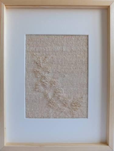 "Saatchi Art Artist Ana Montoya; Sculpture, ""Woven pebbles"" #art"