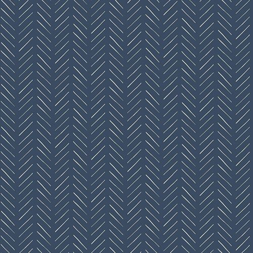 Magnolia Home Pick Up Sticks Blue Wallpaper Sample Swatch