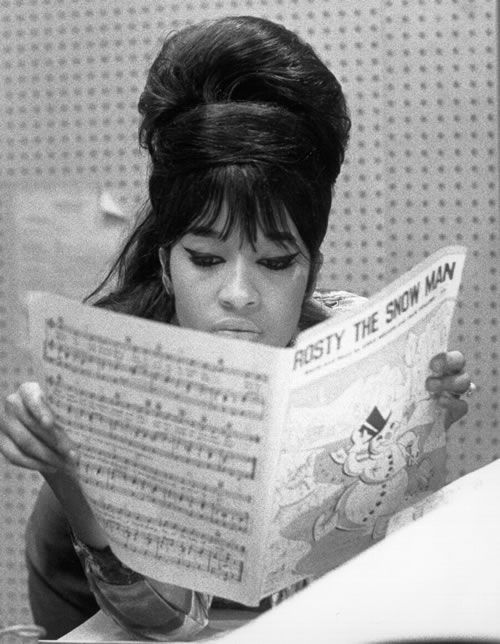 Ronnie Spector. S) Just like Ronnie said...Be My Little Baby Now.