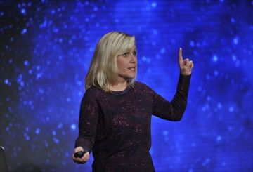Lucy Hawking answers questions big and small