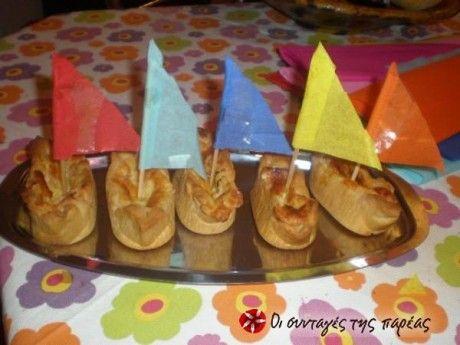 Πρωτότυπες ταρτούλες με γεύση καρμπονάρας και εμφάνιση που θα ξετρελάνει τα παιδάκια. Ιδανικά για παιδικό πάρτυ.