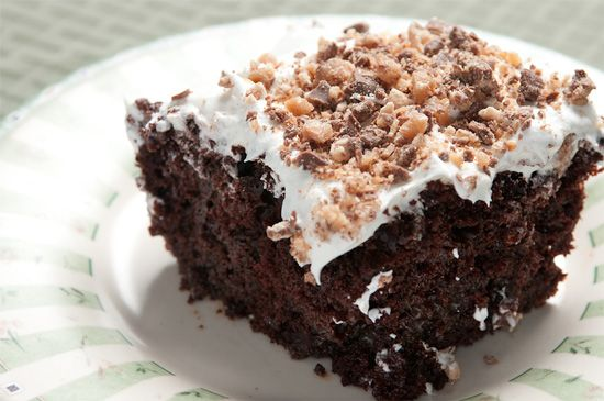 I make this cake, and it is so sweet but everyone loves it