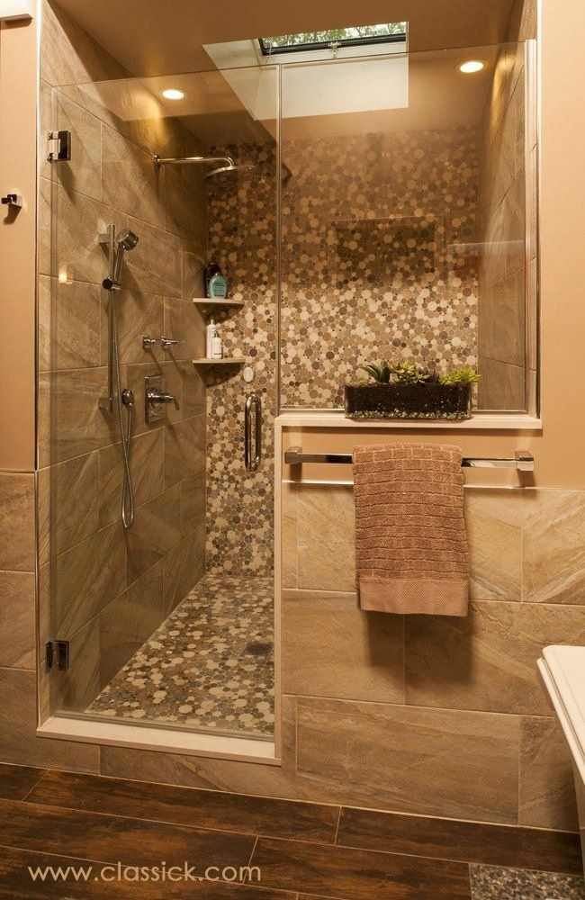 Earth Tone Bathroom Ideas Fresh Shower Wall Tile 12x24 Earth Tone Porcelain With Built In Caesarstone In 2020 Shower Wall Tile Earth Tones Bathroom Zen Bathroom Design
