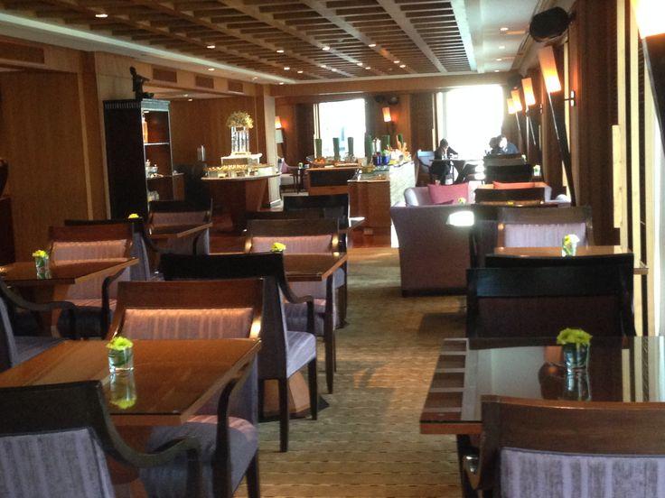 Executive Lounge at the Conrad Bangkok Hotel, Thailand