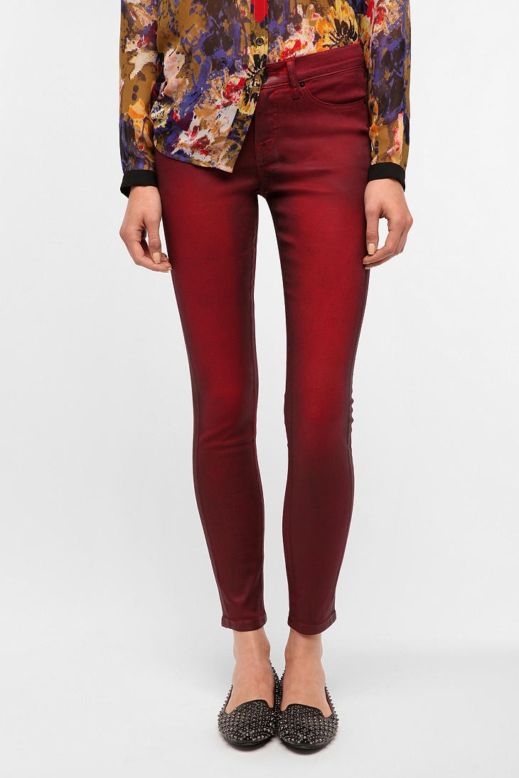 BDG Coated Twig Mid-Rise Jean  #UrbanOutfitters