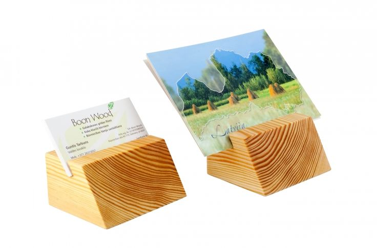 This natural wooden business card holder is made of pine and treated with natural linseed oil. It will hold up to 15 business cards. You may use it as a photo or menu holder as well. It can be used as a guest card holder and as a wedding table decor. It will be packed in a linen bag. Made of endgrain wood. A great Christmas business gift. Smells of natural wood.  We offer card holders with ribbed surface or with smooth surface.  The size of the holder: length: 9 cm height: 4.5 cm width: 7 cm
