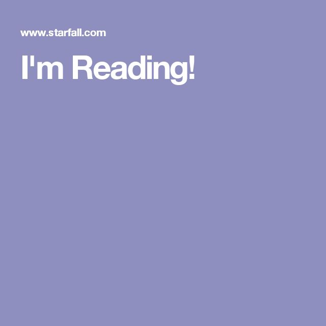 im reading books onlinenumeracy - Starfall Printable Books