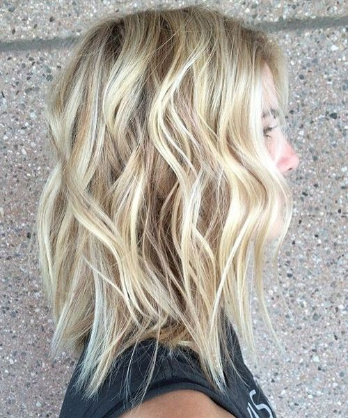 Shoulder Length Shaggy Hairstyles 2016