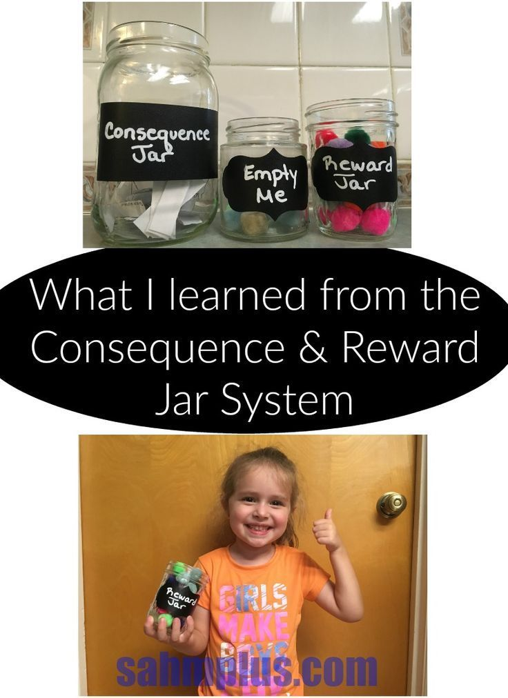 the consequence and reward jar system isn't just a system for improving your child's behavior.  Try it and see what you learn for yourself!  Good luck!