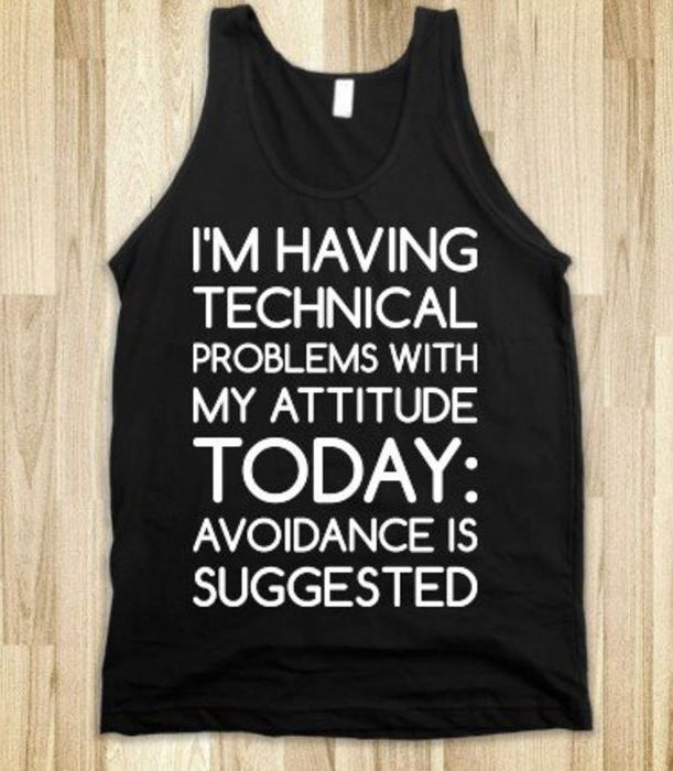 I love this, i need this shirt for when im in no mood to talk to people :( <3