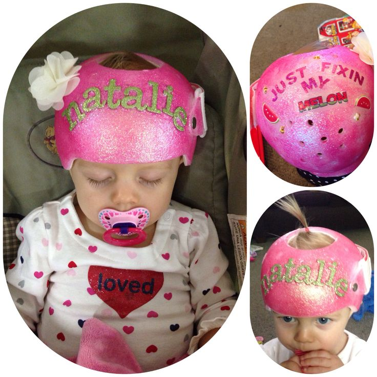 Craniocap baby helmet cranial mold i decorated for for Baby cranial helmet decoration