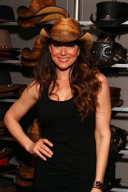 Cerina Vincent Looking gorgeous; American hat makers