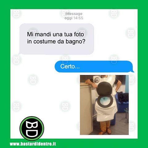 Mi mandi una tua #foto in #costume da #bagno ? #bastardidentro www.bastardidentro.it