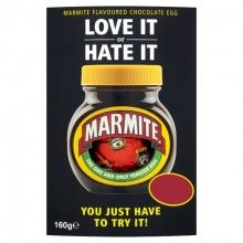 Marmite Easter Egg - do you love or hate it? Order a Marmite chocolate Easter egg direct from the UK today!