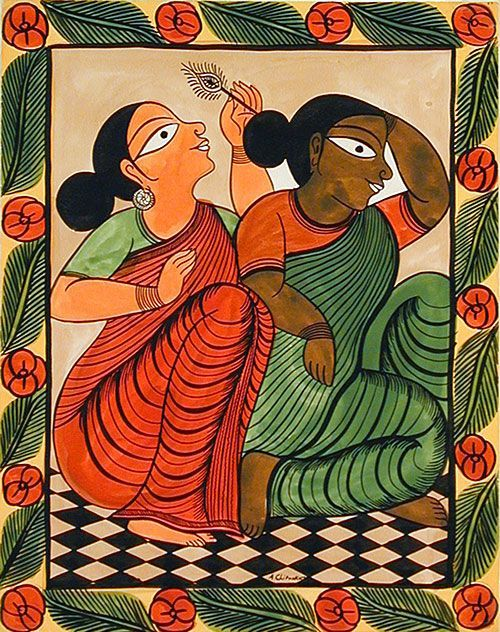 Image result for bengal painting