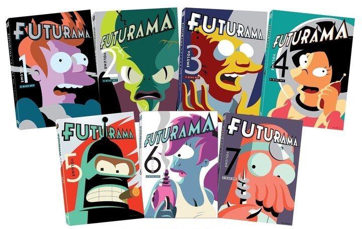 Futurama Seasons 1-7