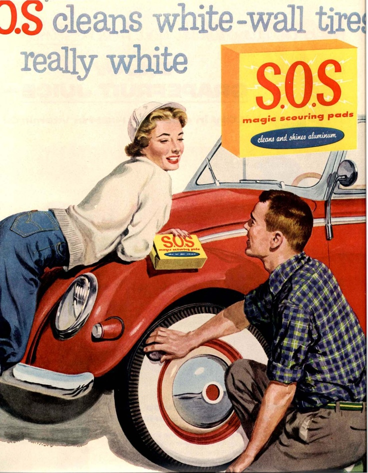 S.O.S. Ad with Volkswagen.
