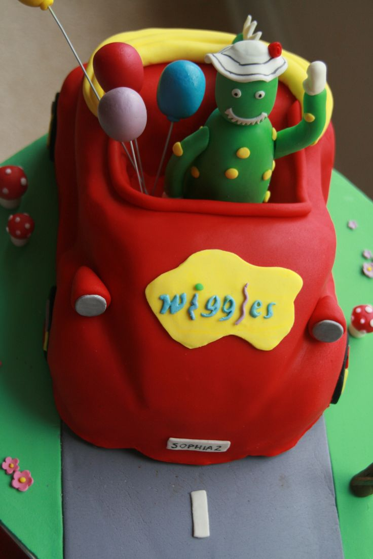 Wiggles D Cake Topper
