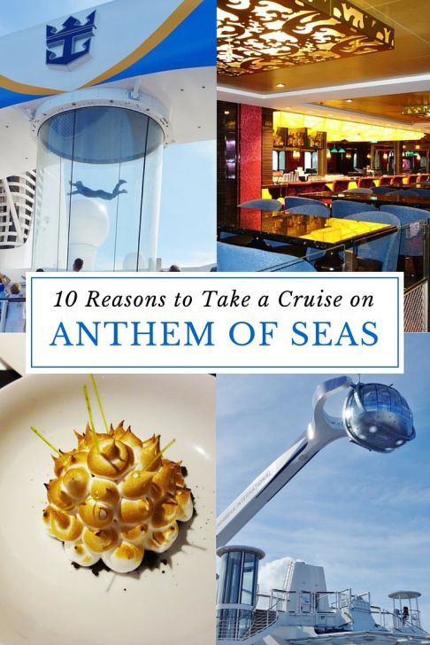 Anthem of the Seas | Our ships tend to speak for themselves, but here are 10 phenomenal reasons to take a cruise on Anthem of the Seas.