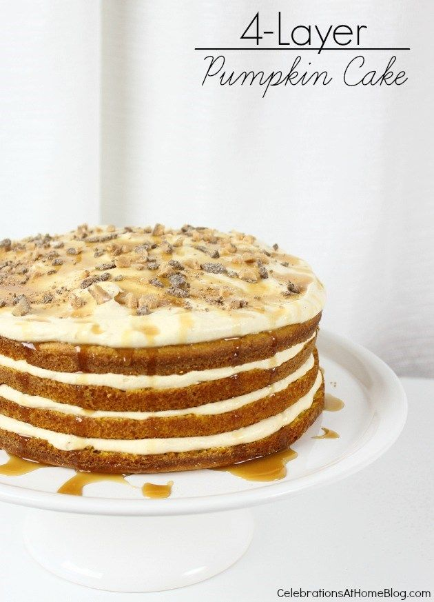 pumpkin layer cake seasons fall cakes and beautiful on 6856