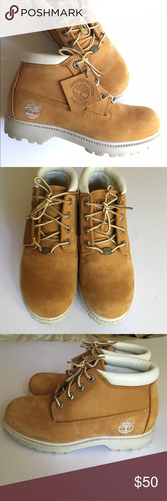 Timberland Nellie Waterproof Chukka Condition: Excellent Used Condition  Cosmetic Blemishes: Small smudge mark on back of left heel; shown in photo Note: Will fit girls in addition to women Questions: Ask away! ❤️ Always shipped the same or next day ❤️Pet Free/Smoke Free Environment ❤️Bundles of 2+ receive 10% discount! Timberland Shoes Lace Up Boots
