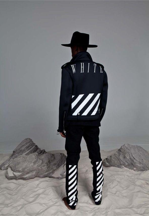 OFF-WHITE - Virgil Abloh. Love this jacket.