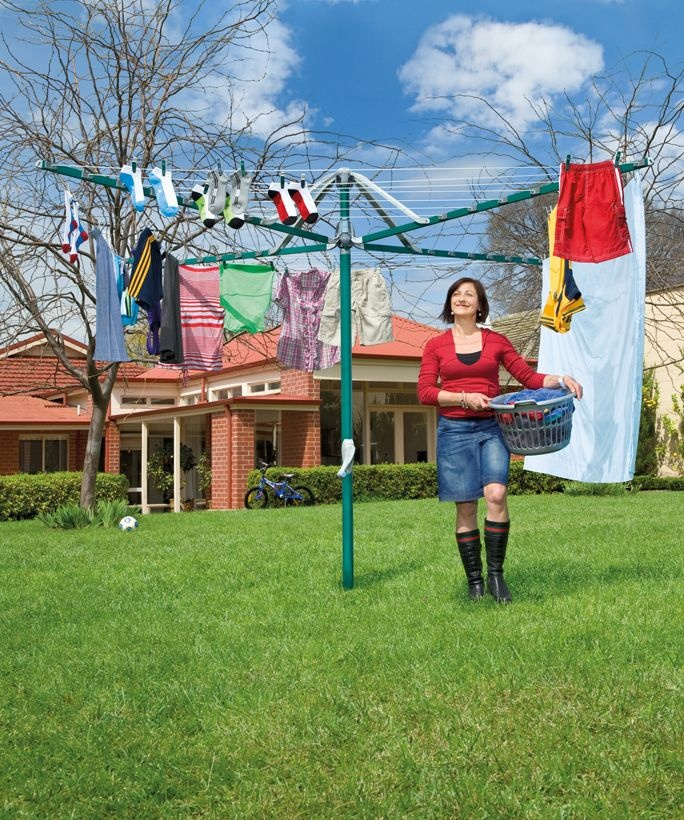 Rotary Umbrella Clothesline Is What I Have Now And I LOVE IT