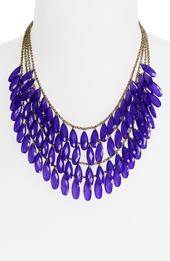 Carole Layered Teardrop Statement Necklace (Online Exclusive)   Nordstrom