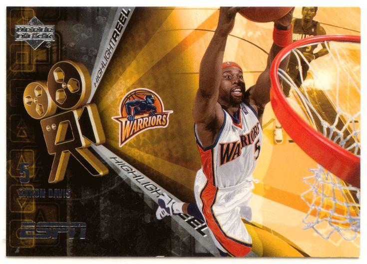 Baron Davis # HR-13 - 2005-06 Upper Deck ESPN Basketball Highlight Reel