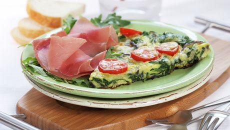 Frittata er en italiensk omelettvariant. Lik med en vanlig omelett er den rask, enkel og sunn.