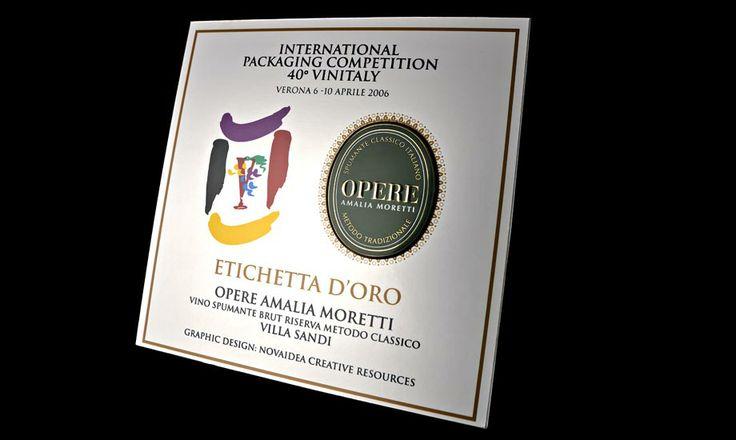 Premi Novaidea Etichetta Oro Vinitaly Verona