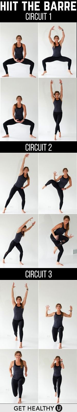 The super-efficient HIIT method of training is the ideal workout for a quick burn and barre is incredibly effective for transforming the so-called 'problem areas' for women. Meld these two training methods together and you have the perfect workout for the modern day, busy women. Here are 3 ways to HIIT the barre!
