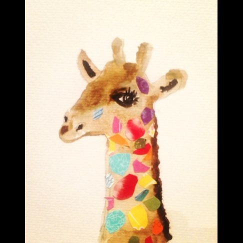 Giselle the giraffe x