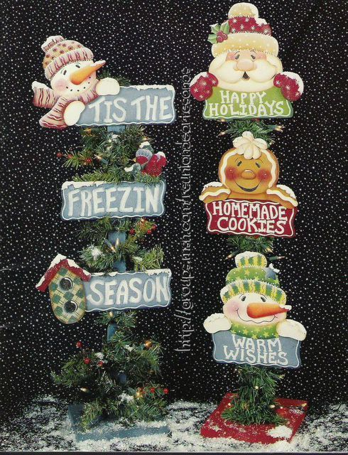 I have this book and LOVE IT and I painted and have these two in my living room right now making my home very festive for Christmas - Kathy - Posts pals seasons country - Picasa Web Albums