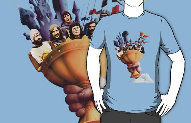 The Holy Grail T-Shirt Get yours here: http://tshirtonomy.com/go/the-holy-grail