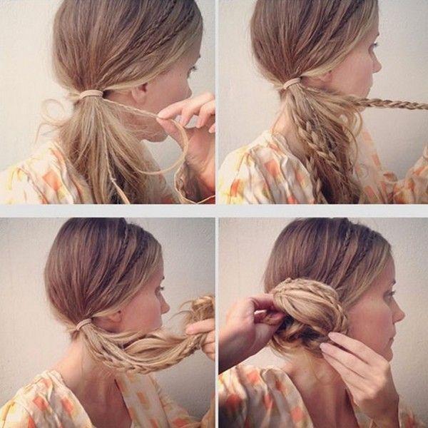 Boho Braid Girly Hairstyles Long Hair