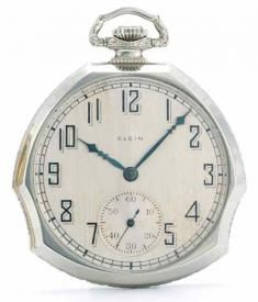 90 best elgin watches images on pinterest pocket watch pocket antique art deco silver tone open face pocket watch by elgin aloadofball Choice Image