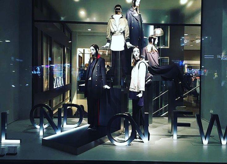 "ZARA, Oxford Street, London, UK, ""London Fashion Week"", (Autumn/Winter), pinned by Ton van der Veer"