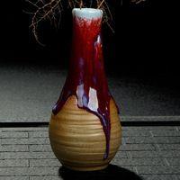 4pcs Porcelain Single Flower Pot  Vases 2016 Real New Arrival Earthenware Glazed Decorative Pottery Ceramic Minimalist Zakka
