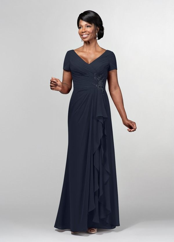 85f48560e6 Azazie Sutherland MBD Mother Of The Bride Dress - Burgundy