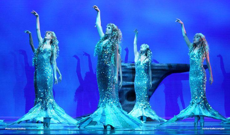 mermaids in the Peter Pan ballet
