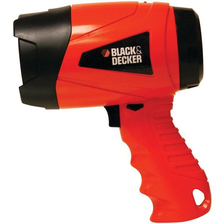 Black & Decker 300-lumen 3-watt Alkaline Led Spotlight