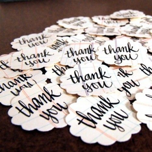 thank you seals for thank you envelopes