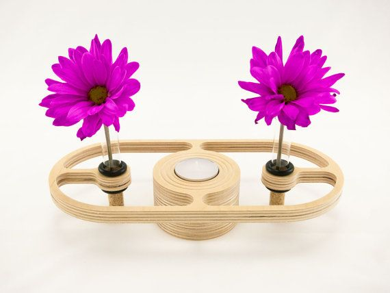 Style 36  Tea Light Candle and Flower Vase by KkornerInnovations, $18.00