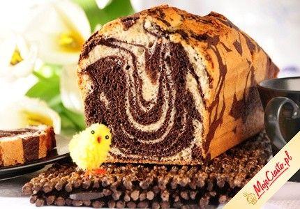 Zebra. Kliknij, aby poznać przepis. Przepisy wielkanocne, wielkanoc, ciasta na wielkanoc, babki wielkanoc.
