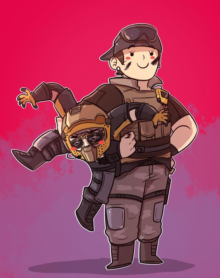 Mozzie and Gridlock Rainbow six siege memes, Rainbow six