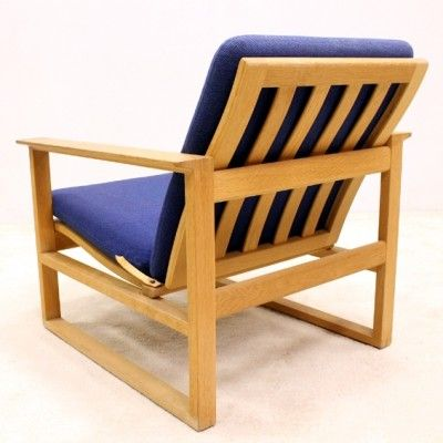 Located Using Retrostart.com U003e 2256 Lounge Chair By Børge Mogensen For  Fredericia