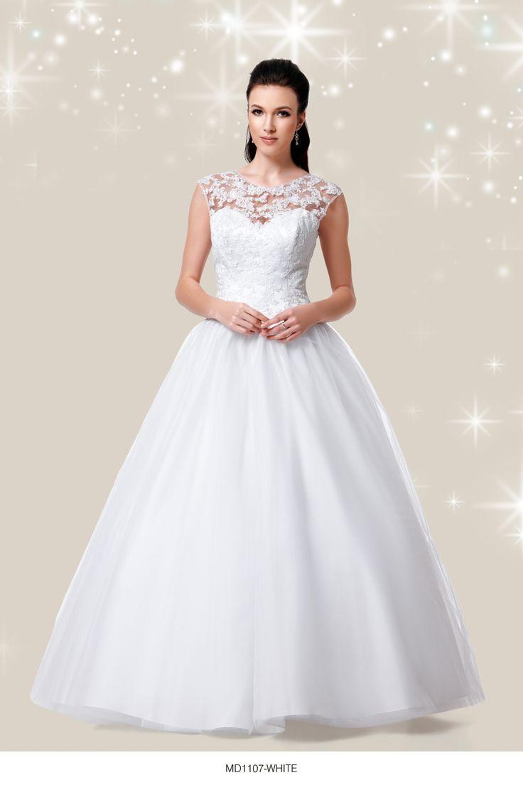 White Debutante Dresses With Sleeves | Wedding Gallery